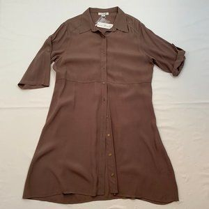 Simply Noelle Size L/XL Brown Short Dress NWT
